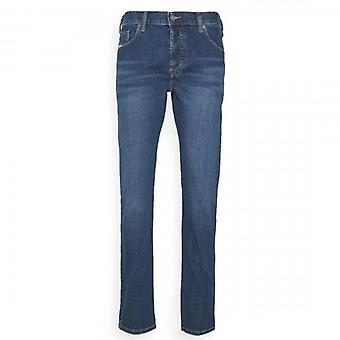 Diesel D-Yennox Stretch Washed Blue Tapered Jeans 009DG