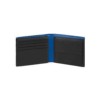 Piquadro - Accessoires - Portemonnees - PU4518BOR_BLU - Mannen - blauw,royalblue