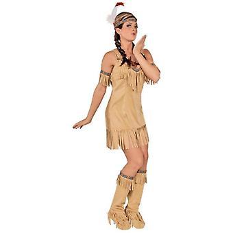 Native Lady vuxen dräkt