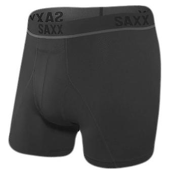 Saxx Underwear Co Kinetic HD Boxer Brief - Blackout