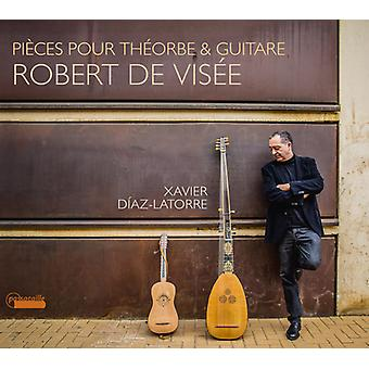 Visee / Latorre - Pieces Pour Theorbe & Guitar [CD] USA import