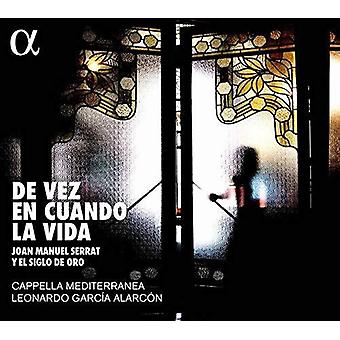 Importación de De Vez En Cuando La Vida [CD] EE.UU.