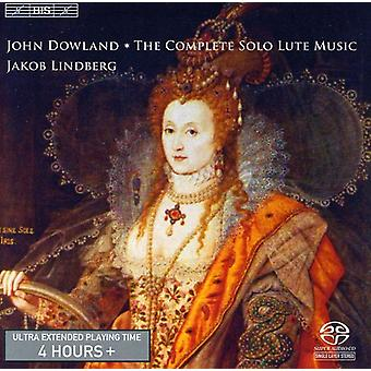 Jakob Lindberg - John Dowland: The Complete Solo Lute Music [Sacd] [SACD] USA import