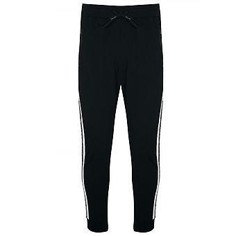 Antony Morato esporte preto fita braço logo jog Pants