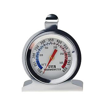 Oven Thermometer Food Meat Temperature Stand Up Table Stainless Steel Gauge Kitchen Cookware