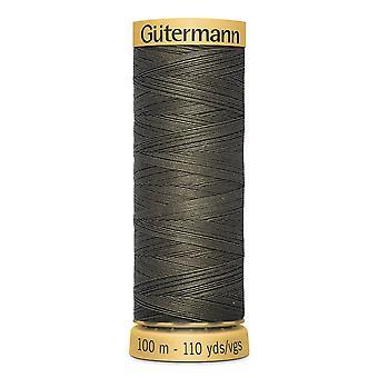 Gutermann 100% Natural Cotton Thread 100m Hand and Machine Colour Code  - 1114