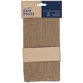 Papermania Bare Basics Hessian Squares (5 uds) (PMA 174451)