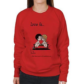 Love Is The Best Part Of Making Up Women's Sweatshirt