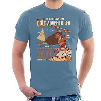 Disney Moana Bold Adventurer Homme-apos;t-shirt Disney Moana Bold Adventurer