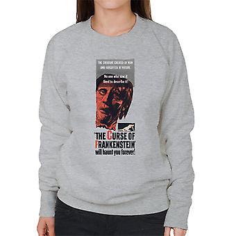 Hammer Horror Films Frankenstein ti infesta per sempre donne's sweatshirt
