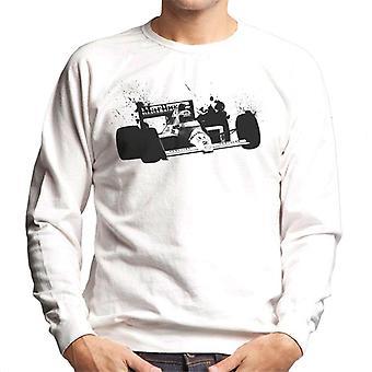 Motorsport Images Alain Prost McLaren MP45 Honda Autodromo Nazionale Monza Men's Sweatshirt