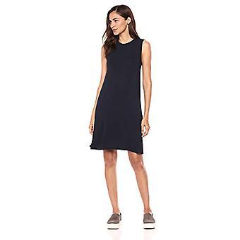 Brand - Daily Ritual Kvinnor&apos,s Jersey Muscle Swing Dress, Marinblå, XX-Large