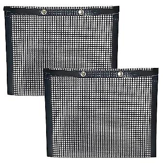 2x Mesh Bags for Grilling