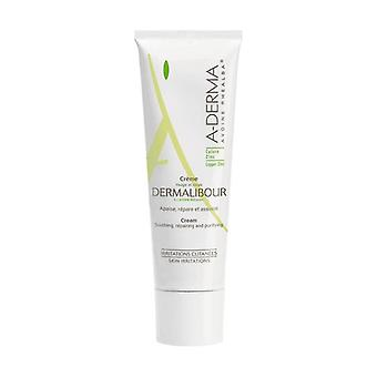 A-derma Dermalibour Repairing Cream 50 ml of cream