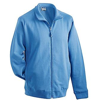 James and Nicholson Unisex Sweat Jacket