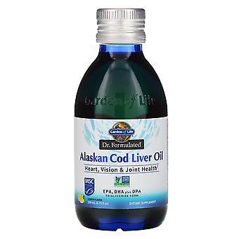 Garden of Life, Dr. Formulated, Alaskan Cod Liver Oil, Lemon, 6.76 fl oz (200 ml