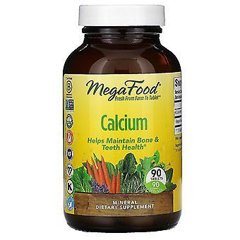 MegaFood, calcium, 90 tabletten