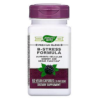 Nature-apos;s Way, Formule B-Stress, 60 Capsules végétaliennes