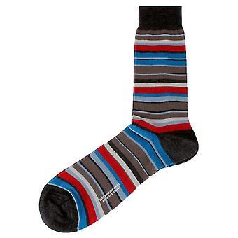 Pantherella Peckham Socks - Charcoal Grey