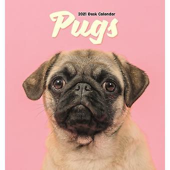 Pug Easel Desk Kalenteri 2021