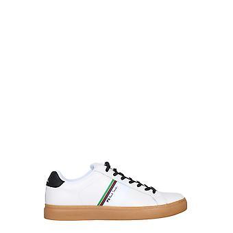 Ps Door Paul Smith M2srex26ecas01 Heren's White Leather Sneakers