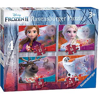 Ravensburger Frozen 2, 4 in a Box Jigsaw Puzzles