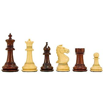 Madrid serie Rosewood luxe Chess Pieces 4 Inches