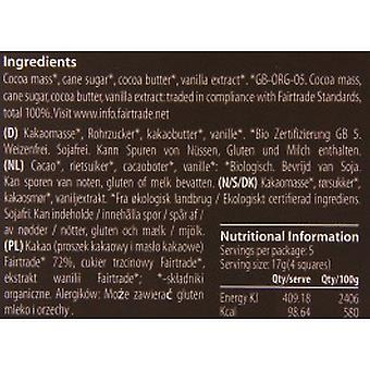Organic Seed & Bean - Dominican Dark (72%) Chocolate Bar