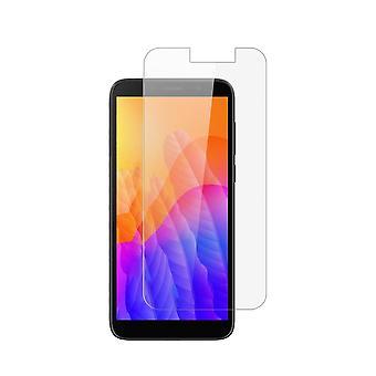 iCoverCase | Huawei Y5P | 2-pack screenprotector | Gehard glas
