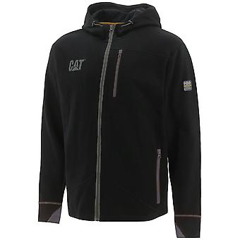 Caterpillar Mens H2O Zip Up Reflective Work Sweatshirt