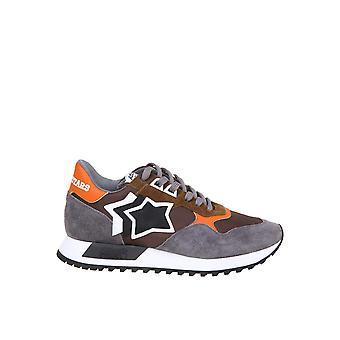 Atlantic Stars Dracocfncdr01 Männer's Multicolor Leder Sneakers