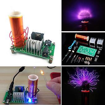 Diy mini tesla coil module niet gemonteerd 15w dc 15-24v 2a plasma luidspreker elektronische kit