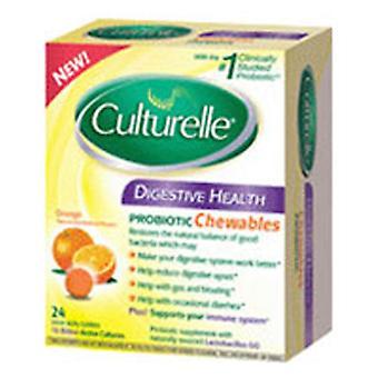 Culturelle Culturelle Digestive Health Chewable, 24 Chewables