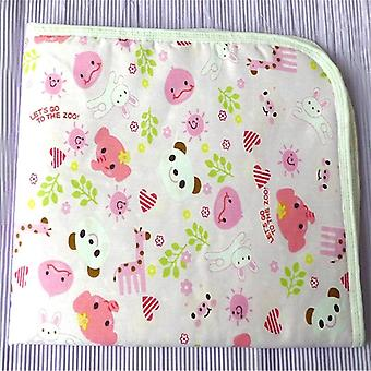 Waterproof Urine Mat Cotton -soft Nappies Cover Pad Cloth For Baby Newborn