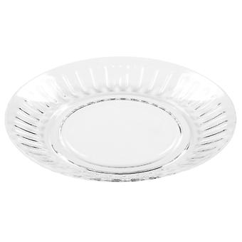 What More Roma Plate Clear Acrylic 20570