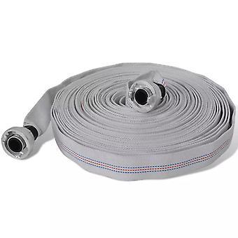 Fire hose flat hose 30 m D-Storz couplings 1 inch
