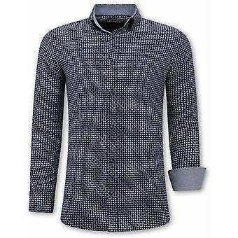 Shirts - Slim Fit - Navy