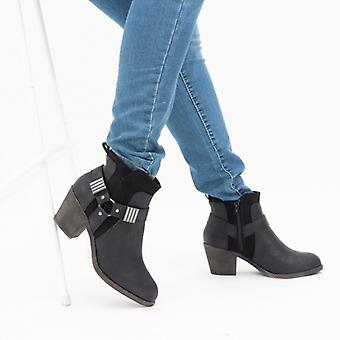 Rocket Dog Lex Ladies Ankle Boots Black