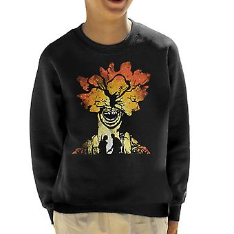 The Last Of Us Clicker Carnage Kid's Sweatshirt