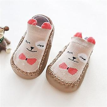 Autumn Baby Floor Socks Anti Slip Soft Sock - Infant Baby Shoeswith Rubber