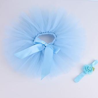 Neugeborenen Baby Tutu Rock & Stirnband Set, Fotografie Requisiten, Säugling flauschigen Tüll