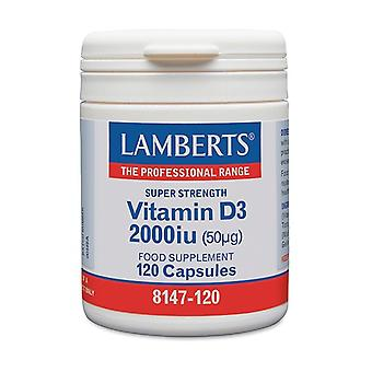 D-vitamiini 2000 IU (50 μg) 120 kapselia