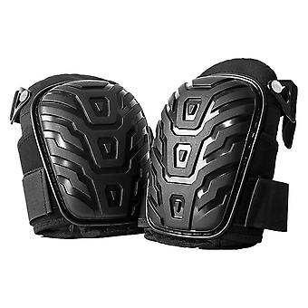 1-pair Knee Pads With Adjustable Straps, Safe Eva Gel, Cushion Pads For Heavy