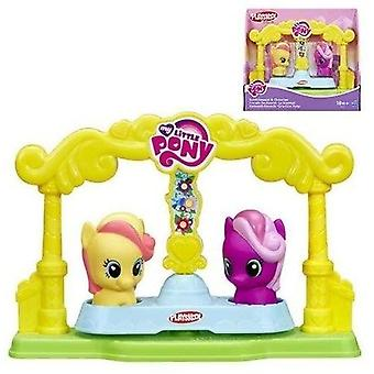 My Little Pony Bumblesweet & Cheerilee Friends Go-Round-on Hasbro