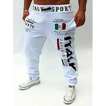 High-quality Italian Flag Printing Design Casual Pants