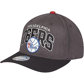 Mitchell & Ness 110 Flexfit Snapback Cap Philadelphia 76ers