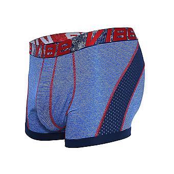 Andrew Christian Vibe Stripe Sports Mesh Boxer | Men's Underwear | Men's Boxer Shorts