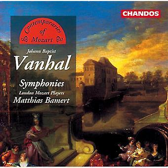J.B. Vanhal - Vanhal: Symphonies [CD] USA import