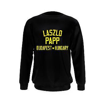 Laszlo Papp Boxing Legend Sudadera