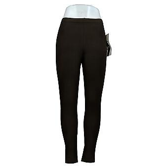 Donne con controllo shaper vestibilità regolare pull-on maglia leggings nero A235949